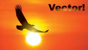 Скачать бесплатно векторный рисунок орла